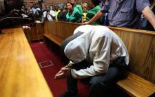 FILE: Nicholas Ninow, who is accused of raping a seven-year-old girl in a Dros restaurant, briefly appeared in the Pretoria Magistrates Court on 28 November 2018. Picture: Abigail Javier/EWN