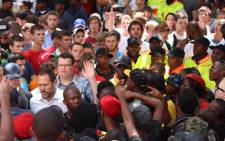 The University of Pretoria confirmed all lectures were cancelled for the day after demonstrators boycotted classes on 22 February 2016. Picture: Christa Eybers/EWN.