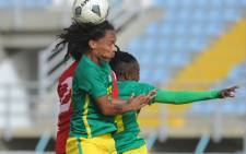 FILE: Banyana Banyana players in action during the 2018 Cyprus Women's Cup. Picture: @Banyana_Banyana/Twitter