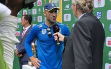 Faf du Plessis after South Africa's victory over Pakistan at Centurion on 28 December 2018. Picture: Twitter/@OfficialCSA
