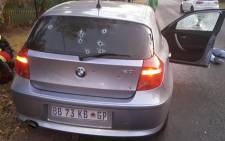 Gauteng police made significant breakthrough in the fight against the so-called airport robbery gang, with two suspects killed and another arrested in a shootout in the Moot area in Pretoria on 21 June 2015. Picture: SAPS.