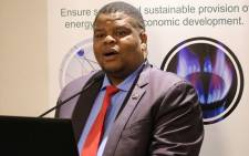FILE: David Mahlobo. Picture: @Energy_ZA/Twitter