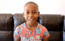 A screenshot of 10-year-old Ethan Palagangwe. Picture: Cape Community Newspapers/Youtube