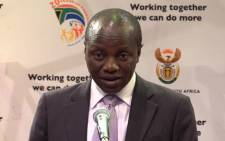 Public Service & Administration Minister Collins Chabane died in a car crash at the weekend. Picture: Christa van der Walt/EWN