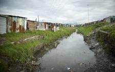 FILE: A stream flowing through Khayelitsha littered with rubbish. Picture: Aletta Gardner/EWN.