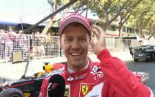 Sebastian Vettel. Picture: @F1.