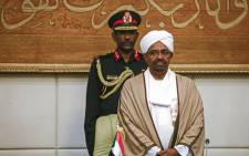 FILE: Sudan's former President Omar al-Bashir on 14 March 2019. Picture: AFP.