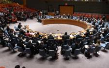 FILE: A United Nations Security Council meeting. Picture: AFP.