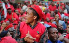 FILE: The EFF claims none of the victims of the Marikana shooting have received houses. Picture: Reinart Toerien/EWN.