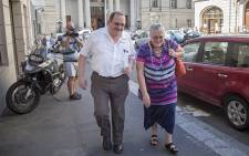 Home Affairs officials Gerhard Kotze and Wilhelmina Hofmeyer leave the Western Cape High Court after testifying on 25 February 2016. Picture: Aletta Harrison/EWN