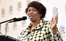 Basic Education Minister Angie Motshekga. Picture: @DBE_SA/Twitter