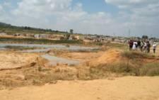 The Mamelodi quarry where 2 boys drowned on 27 February 2021. Picture: Thando Kubheka/Eyewitness News