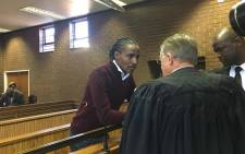 FILE: Kwaito star Sipho Ndlovu, also known as 'Brickz', in the Roodepoort magistrates court. Picture: Kgomosto Modise/EWN