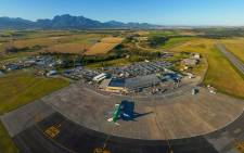 An aerial view of George Airport in George, Western Cape. Picture: @GeorgeAirport/Facebook.