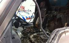 FILE PICTURE: A delivery truck was set alight in Salt River on 9 October 2012. Picture: Chanel September/EWN