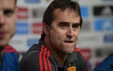 Former Spain coach Julen Lopetegui.  Picture: AFP