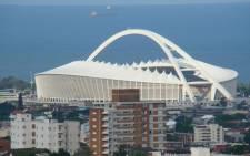 FILE: Moses Mabhida Stadium, Durban. Picture: Victoria Campbell-Gillies/EWN.