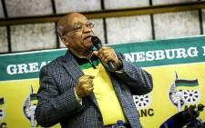 FILE: President Jacob Zuma addresses ANC members in the Eldorado community hall.Picture: Reinart Toerien/EWN.