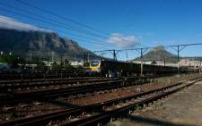 Metrorail in Cape Town suspended services on the Central line following the murder of a security guard at Chris Hani station in Khayelitsha. Picture: Facebook.com.