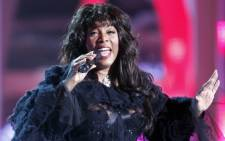 Donna Summer. Picture: AFP