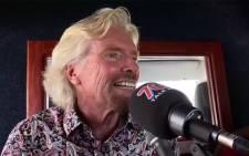 Richard Branson. Picture: EWN.