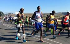 The 2016 Comrades Marathon took place on Sunday 29 May, from the Pietermaritzburg City Hall to the Kingsmead Cricket Stadium in the Durban CBD, that's 89 kilometres and 208 metres, exactly. Picture: Rafiq Wagiet/EWNSport.