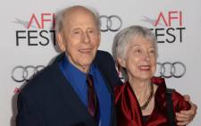 """FILE: Rance Howard, father of Ron Howard, and his late wife Judy at the AFI Fest gala screening of """"Nebraska,"""" at the TCL Chinese Theatre in Hollywood, California, 11 November 2013.  Picture: AFP."""