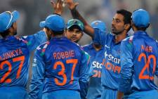 India cricket team. Picture: CWC website.