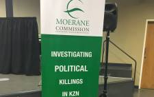 FILE: The Moerane Commission of Inquiry is investigating political killings in KwaZulu-Natal. Picture: Ziyanda Ngcobo/EWN.