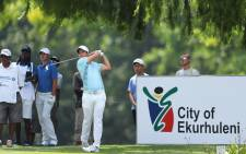 Adrien Saddier pictured during the European Tour's South African Open on 12 January 2018. Picture: @Challenge_Tour