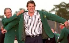 Masters winner Nick Faldo is one of three players to have won back-to-back Masters titles. Picture: Facebook.