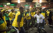 ANC members sing and dance inside the plenary before the ANC's national conference begins on 16 December 2017. Picture: Thomas Holder/EWN