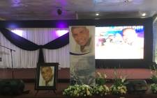 Dan Tshanda's funeral at the Palm Bible Church in Soweto on 18 January 2019. Picture: Kgomotso Modise/EWN