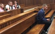 Sarel du Toit has been handed a double life sentence for the rape and murder of four-year-old Jasmin Pretorius. Picture: Mia Lindeque/EWN