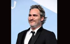 "Joaquin Phoenix, winner of Male Actor in a Leading Role award for ""Joker"", poses in the press room during the 26th Annual Screen Actors Guild Awards at The Shrine Auditorium on January 19, 2020 in Los Angeles, California.  Picture: AFP."