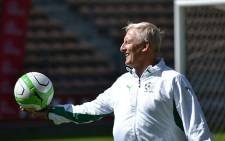 SAFA President Danny Jordaan says there is a shortlist of coaches should current Bafana Bafana coach Gordon Igesund not continue with the job. Picture: Vumani Mkhize.
