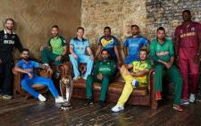 The captains of the ten teams participating in the 2019 Cricket World Cup. Picture: Supplied