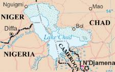 A map of Lake Chad and its surrounding region. Picture: en.wikipedia.org