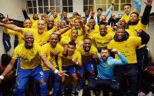 FILE: Mamelodi Sundowns were crowned PSL champions after beating Amatuks in Pretoria pn 04 May, 2016. Picture: Twitter @Masandawana.