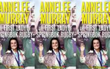 The First Lady of Springbok Rugby book cover: Image: Highbury Media