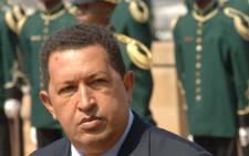 Venezuela President Hugo Chavez. Picture:AFP