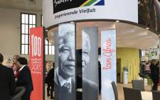 South Africa's exhibition stand at the 2018 International Travel Trade Show in Germany. Picture: @sisantshona/Twitter