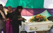 Three-year-old Omari Monono has been laid to rest. Picture: @desiree.vanderwalt.73/Facebook.com.