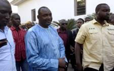 FILE: Gambian president Adama Barrow. Picture: AFP.