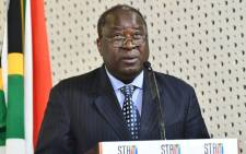 Finance Minister Tito Mboweni: Image: Twitter/SAgovnews