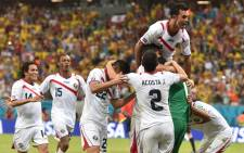 Costa Rica beat Greece 5-3 on penalties and will now play the Netherlands in the quarterfinals. Picture: Facebook.