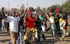 Protesters march in Malawi on 20 July 2011. Picture: Daily Voice