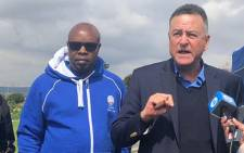 Former DA leader Tony Leon on the campaign trail for the party in Eldorado Park. Picture: @DAGauteng/Twitter