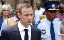 FILE: Murder accused Oscar Pistorius's trial has been extended until 16 May. Picture: Aletta Gardner/EWN.