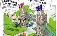 CARTOON: No Man is an Island, Brexit Boris!
